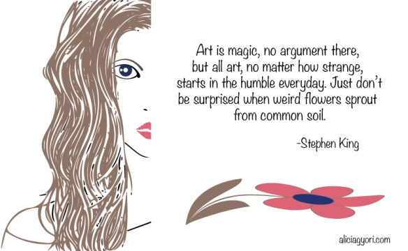 art is magic Stephen King